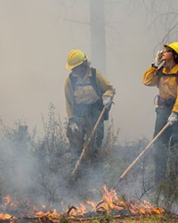 Source staffer Keely Damara spent a day with fire crews, training for the 2019 fire season. Fortunately, the fire season turned out to be much more mellow than years past.