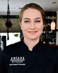 Chef Ariana Fernandez, Owner at Ariana Restaurant, Bend