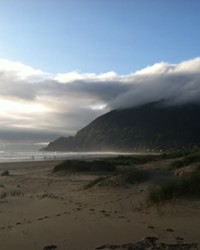 Manzanita, the apple of many people's eyes on the Oregon coast.