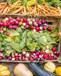 Most Central Oregon farmers markets will get going a bit late the first week of June, but Central Oregon Locavore is an indoor farmers market open seven days a week.