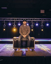 Courtney Latham, owner of Flip Flop Sounds, is not sitting this one out. Instead, he's adapting with a new livestream stage available for local artists.