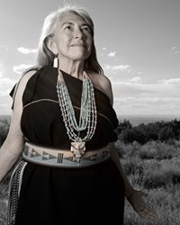 Dr. Mary Evelyn Belgarde (Pueblo of Isleta and Ohkay Owingeh), 2014.