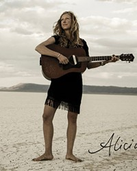 Alicia Viani says she is thrilled to finally perform her new album for fans.