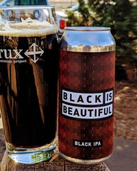 The Crux version is indeed a beautiful beer, dark red/brown in color and easy drinking.