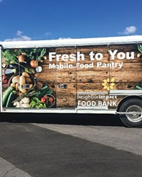 NeighborImpact hits the road with their Mobile Pantry.