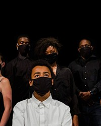 """The cast of """"Evanescent,"""" an original play that takes on living with mental health issues."""