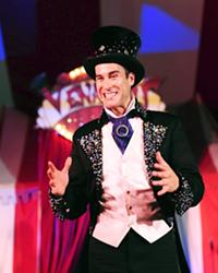 Kevin Venardos, ringmaster and founder of Venardos Circus.