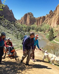 The AdvenChair and company take on Smith Rock State Park.