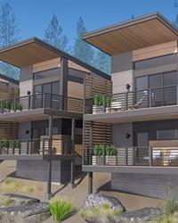Net Zero ready development called Hiatus Roanoke happening on the west side of Bend.