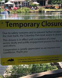 Preserve Habitat, But Don't Close Down Existing Locals' River Access at Columbia Park
