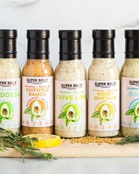 Look for this assortment of salad dressings at your favorite local store.