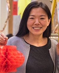 Lin Hong at COCC's 2018 Chinese New Year Celebration.
