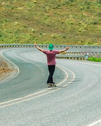Don't try this at home, though these skateboards have the power to set you free.