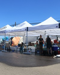 The cooling center on Hunnell Road in Bend gave out food, water and a cool mist during record-breaking heat throughout the region.