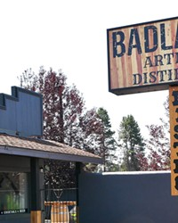 The new bistro and distillery along Highway 97 in La Pine are hard to miss.