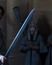 """Dev Patel carries every frame of """"The Green Knight."""""""