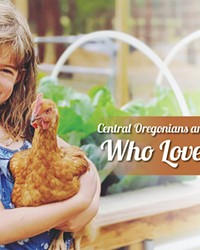 """""""We raised layers and meat chickens to sell for friends and family. #GreenFarmerHomestead,"""" said Kirsten Green Farmer."""
