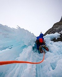 Graham Zimmerman had to evacuate off the K2 Mountain in Pakistan due to heat.