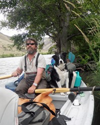 John Hazel is a Maupin-based guide who regularly leads trips on the lower Deschutes. Hazel believes the solution to the current problems is for PGE to remove PGE's Selective Water Withdrawal facility at the Pelton Round Butte Dam.