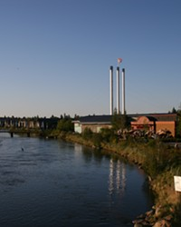This year's race starts and ends in Bend's Old Mill District.
