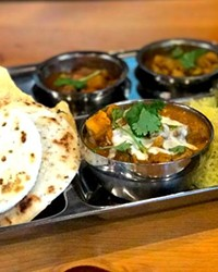 A taste of Thali—at newly opened Mantra Indian Kitchen and Tap Room