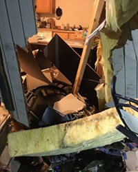 Two Drivers; Two Crashes into Local Buildings