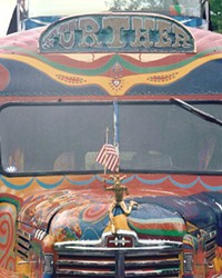 """Ken Kesey and the Merry Pranksters boarded """"Further"""" for an adventure across the United States."""
