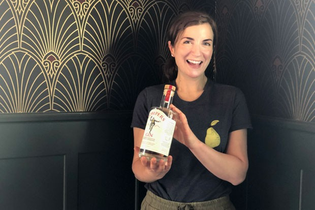 Welcoming, fun and outgoing is how Gompers Distillery co-owner Jessica Hart describes her Oma and Opa, who the distillery is named after. - LISA SIPE