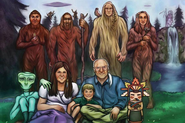 The 2019 Sasquatch Spiritual Retreat takes place on Aug. 30, in Chewelah, Wash. - ASHLEY RUIZ // AIRIS ILLUSTRATIONS