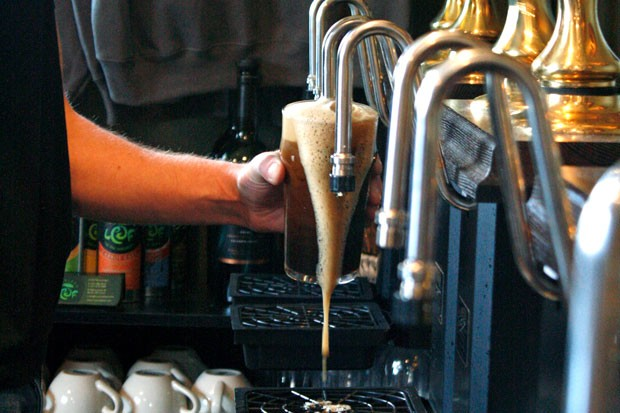 Porter Brewing serves up real English-style cask ales—no nitro here. - KEELY DAMARA