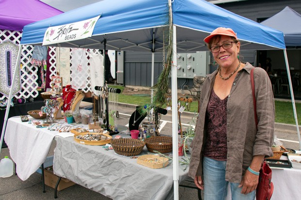 Redmond local Sandi Britz regularly sells her beads and jewelry at the Saturday Market in Redmond. - KEELY DAMARA