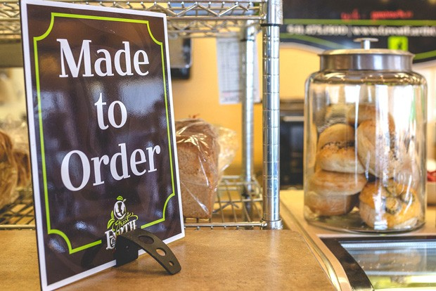 Sandwiches are fresh and made to order at Great Earth Cafe & Market. - TAMBI LANE PHOTOGRAPHY