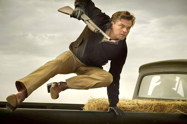 There's not enough of DiCaprio jumping out of pickup trucks in Hollywood. - PHOTO COURTESY OF SONY