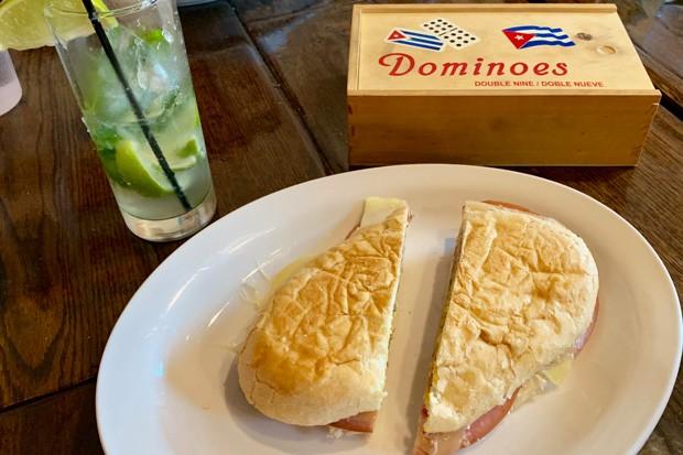 Cuban Kitchen Cuban sandwich and mojito. - JOSHUA SAVAGE