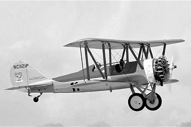 The Alexander Eaglerock was a popular biplane of the 1930s used by airports to hop rides. - COURTESY OF WINGS OVER THE ROCKIES