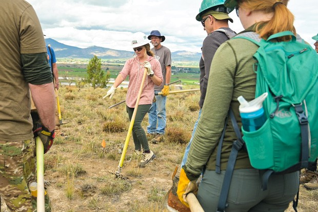 The 66 Trail System, set to be complete by this fall or next spring, will offer about 20 miles of trail access to people in Prineville. - TIMOTHY PARK PHOTO & VIDEO