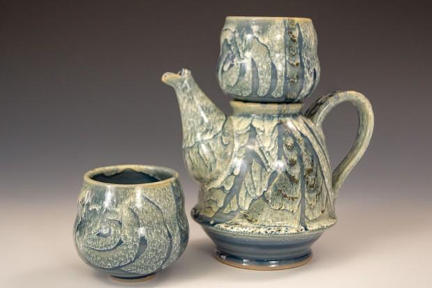 """Spirit Pot"" by Justin LeBart Journeyman Ceramics, stoneware. - SUBMITTED"