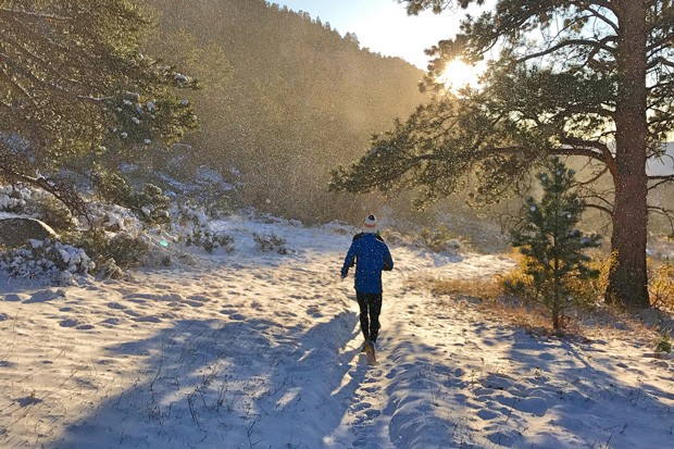 Winter running in Central Oregon can be exhilarating—but you need to be properly prepared. - MAX KING