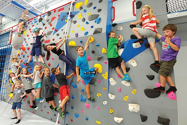 Monkeys welcome! Come to Free Spirit in the Old Mill for Kids Ninja Night Nov. 16. - SUBMITTED