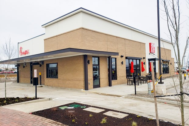 Bend's new Chick-fil-A is slated to open Thursday, and not everyone is pleased. - CAYLA CLARK
