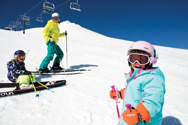 Another beautiful day at Mt. Bachelor – kids rule! - BRIAN BECKER