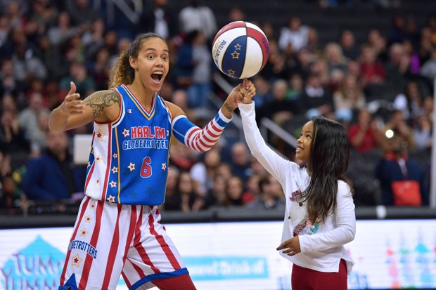 Spreading joy through basketball is part of the Harlem Globetrotters' mantra. - COURTESY HARLEM GLOBETROTTERS