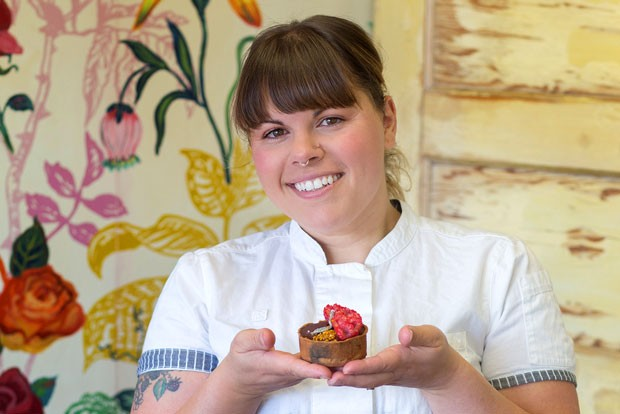 Executive Pastry Chef Nickol Hayden-Cady, Owner of Foxtail Bakeshop, Bend - TAMBI LANE PHOTOGRAPHY