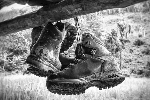Hanging up the boots. It's what we can do right now. - LEOTO, PIXABAY