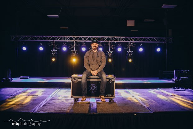 Courtney Latham, owner of Flip Flop Sounds, is not sitting this one out. Instead, he's adapting with a new livestream stage available for local artists. - MEGAN BAKER