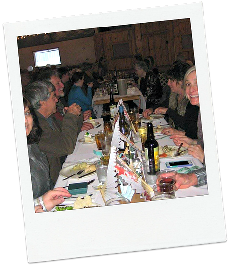 A Harney County banquet. A good time. - COURTESY ELLEN WATERSTON