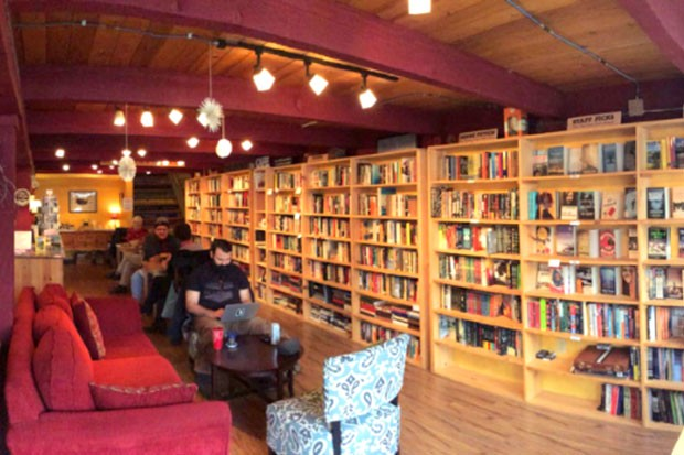 While Dudley's Bookshop Cafe has no set reopening date (due to major success with curbside pickup), owner Tom Beans is leaning towards a soft reopening sometime in July. - COURTESY DUDLEY'S BOOKSHOP CAFE