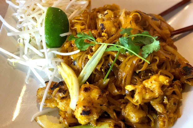 The menu at Pho Viet is certainly not limited to noodle soup – the chicken pad thai is pretty excellent. - KEVIN BRYAN