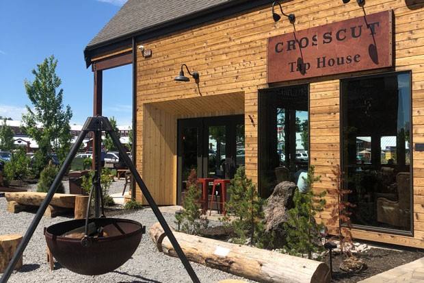 The Crosscut Tap House is now open. - NICOLE VULCAN