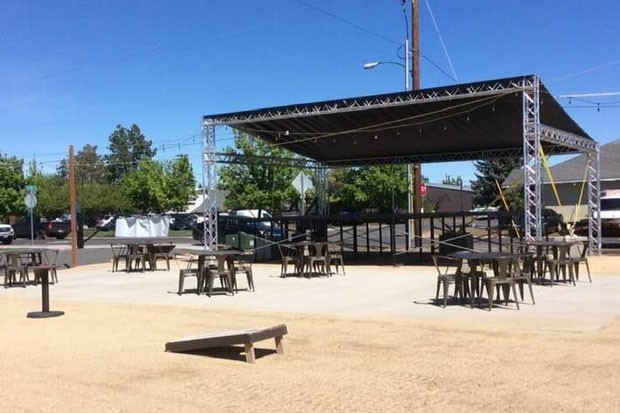 """A look at """"The Angle at Duffy's,"""" the stage where bands will get down at General Duffy's Waterhole in Redmond. - COURTESY GENERAL DUFFY'S"""